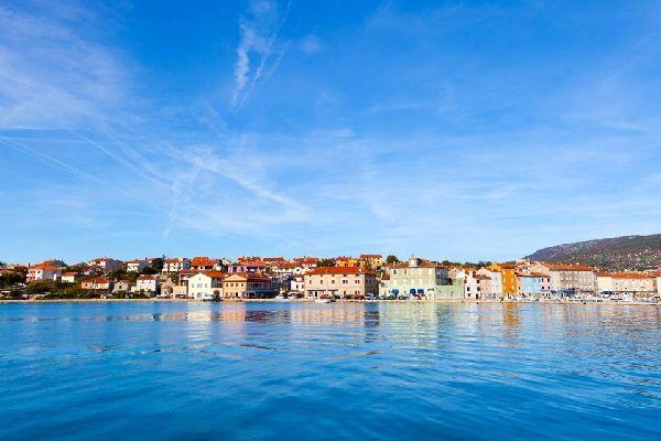 Le città costiere , Villaggio della Dalmazia, Croazia , Croazia