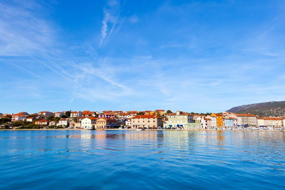 Les villes côtières , Village de Dalmatie, Croatie , Croatie