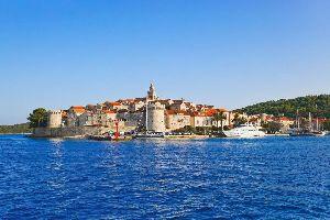 Les îles , L'île de Kor?ula en Croatie , Croatie
