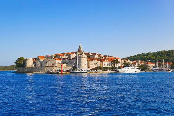 The islands , The island of Korkula, Croatia , Croatia