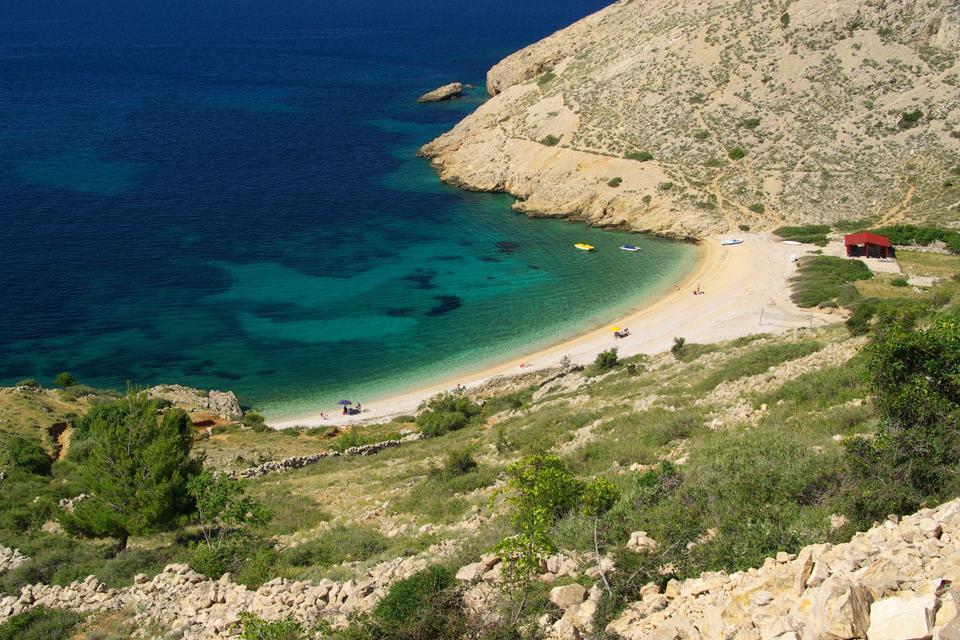 Le isole , Una baia da sogno sulla costa croata , Croazia