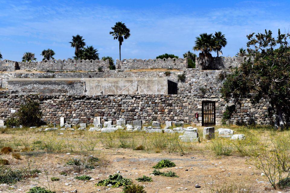 Les monuments, Kos, Grèce, ruine, archéologie, vestige, dodécanèse, europe, île, château, forteresse, Nératzia