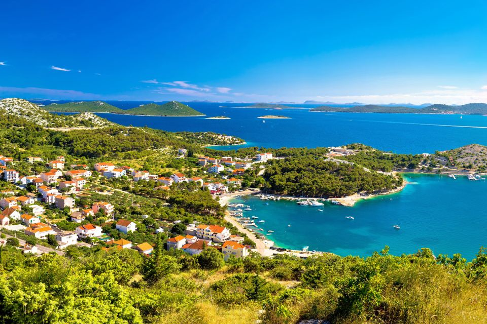 Les paysages, kornati, dalmatie, adriatique, mer, croatie, europe, kornati, île, Drage Pakostanske