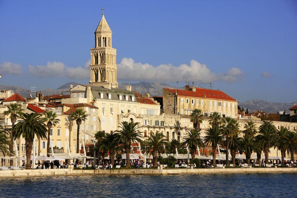 Les monuments, croatie, église, palais doclétien, cathédrale, Saint Domnius, religion, split, croatie, adriatique, europe, péristile