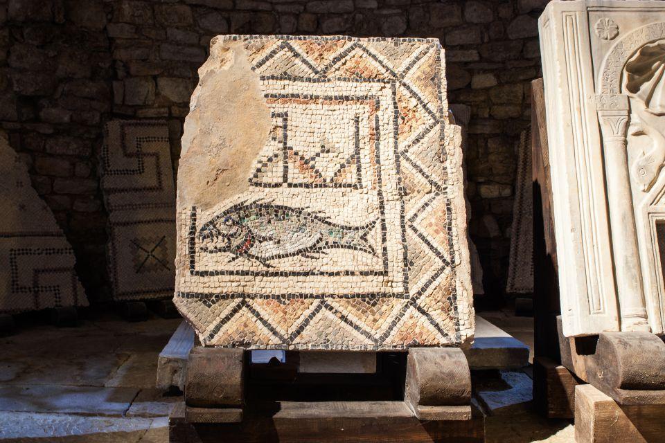 Les monuments, porec, basilique euphrasienne, religion, église, croatie, europe, adriatique, mosaïque, poisson, archéologie, vestige