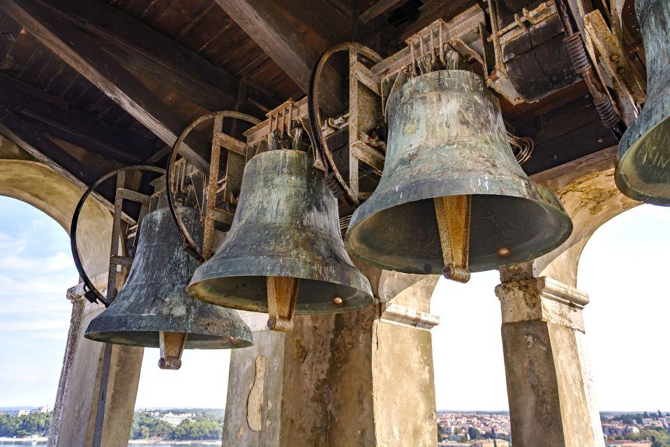 Les monuments, porec, basilique euphrasienne, religion, église, croatie, europe, adriatique, cloche, clocher