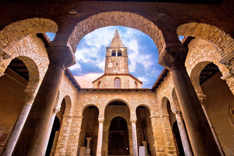 Les monuments, porec, basilique euphrasienne, religion, église, croatie, europe, adriatique, clocher