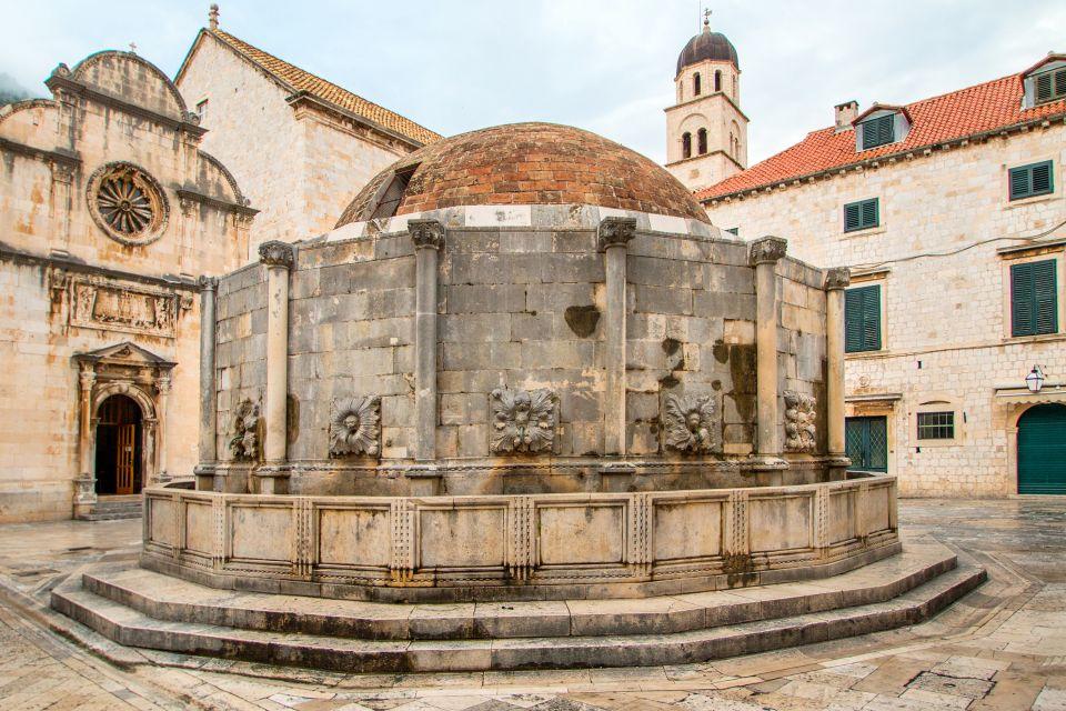 Les monuments, fontaine, onofrio, croatie, dalmatie, europe, dubrovnik, moyen-âge