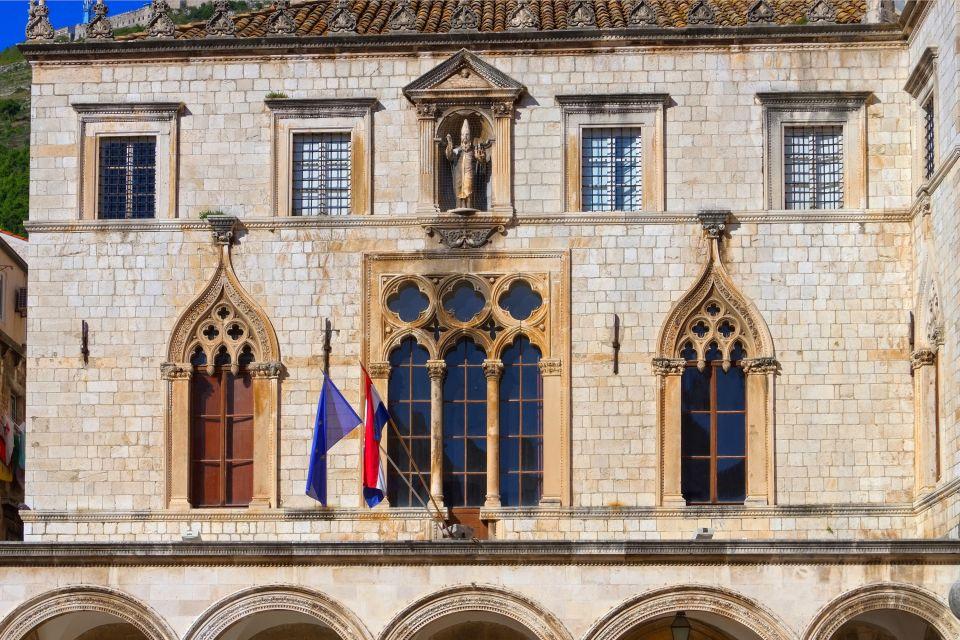 Les monuments, Sponza, croatie, unesco, palais, dubrovnik, europe, ville fortifiée