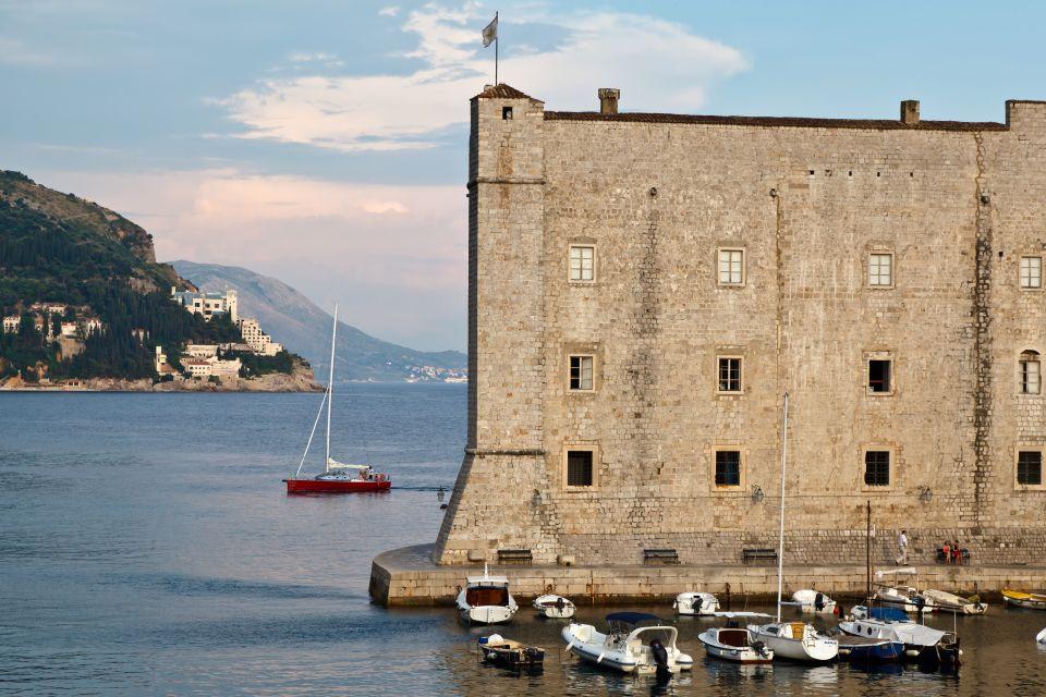 Les musées, adriatique, mer, fort, fortification, dubrovnik, musée, culture, maritime