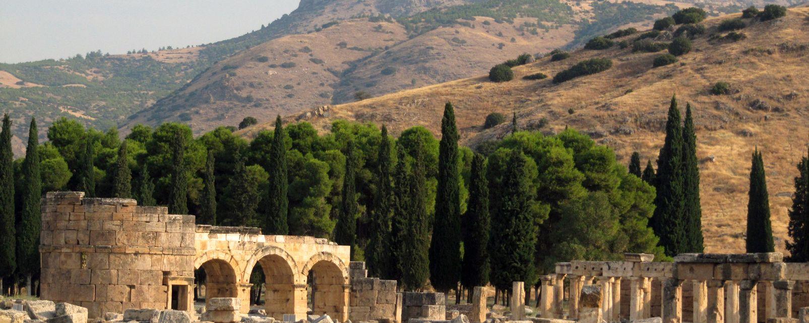 , Le mont Olympe, Les paysages, Région d'Antalya