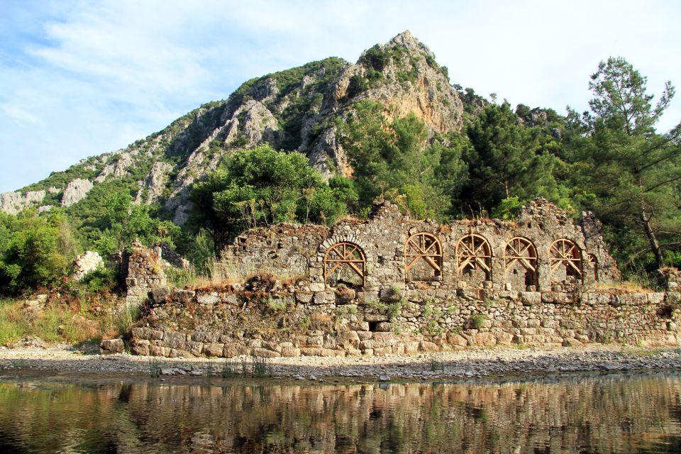 Le mont Olympe, Les paysages, Région d'Antalya