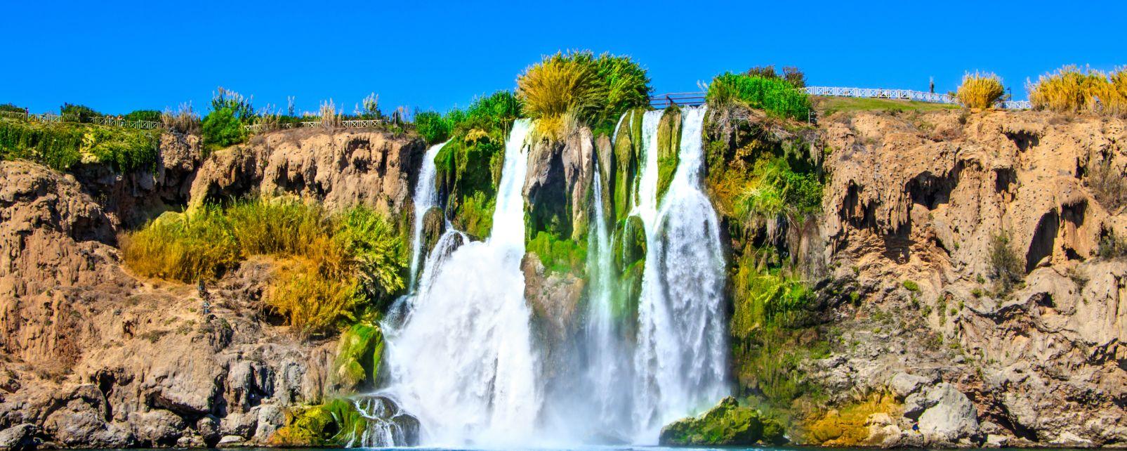 Les chutes de Düden, Les paysages, Région d'Antalya