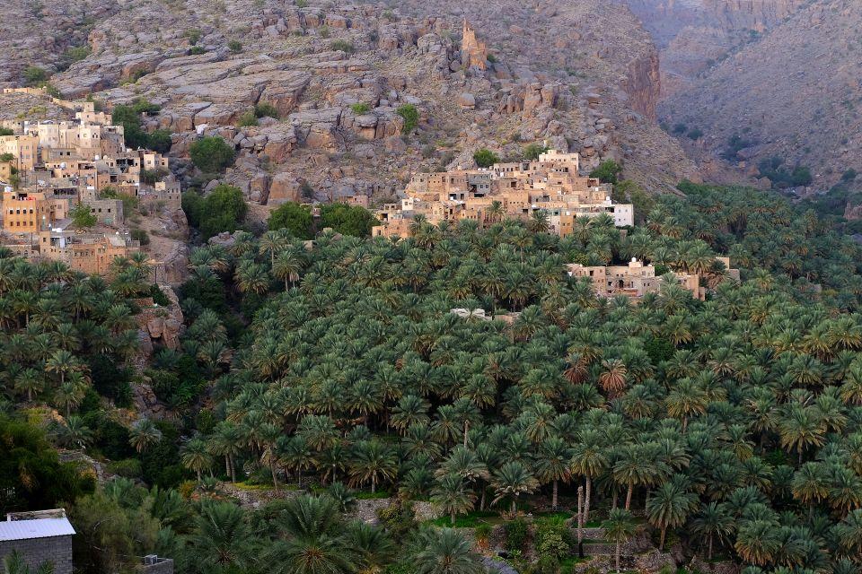 Oman 2016- Misfah, Le Djebel Al Akdhar, Les paysages, Sultanat d'Oman
