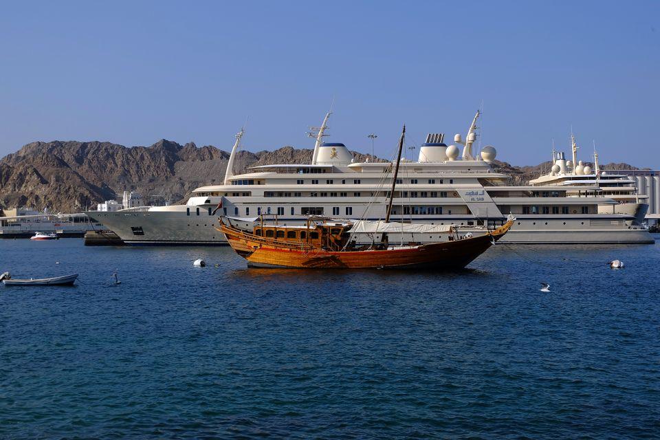 Les côtes, Oman, sultanat, moyen-orient, muttrah, mer