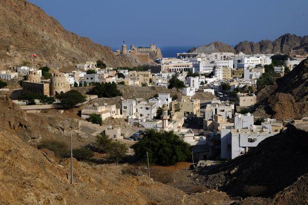 Les côtes, Oman, sultanat, moyen-orient, mascat, muscat, vieille ville, tradition, fort, Al Mirani