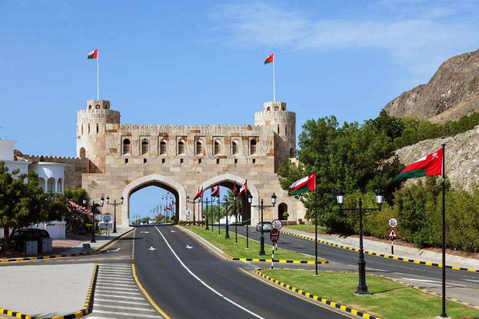 Les côtes, Oman, sultanat, moyen-orient, mascate, muscat, vieille ville, tradition, porte