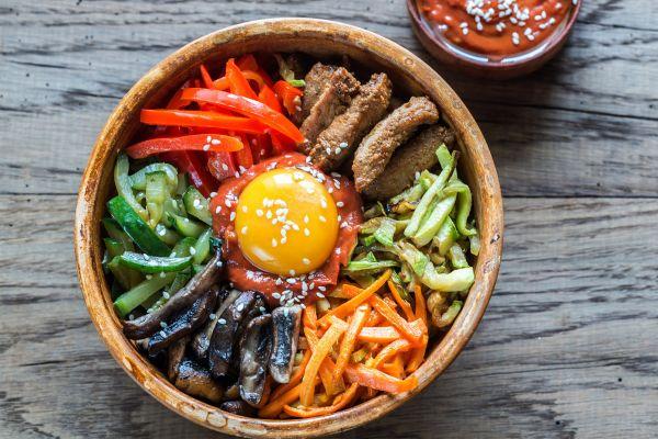 Les arts et la culture, corée, sud, gastronomie, cuisine, recette, plat, alimentation, boeuf, viande, piment, nourriture, gojuchang, légume, carotte, oeuf