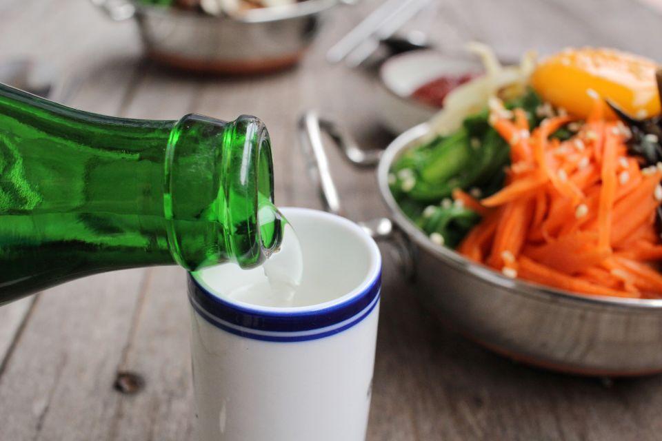 Les arts et la culture, corée, sud, gastronomie, cuisine, recette, plat, alimentation, alcool, liquide, boisson, soju, riz