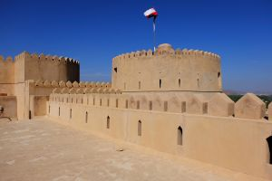Les monuments, Oman, sultanat, moyen-orient, fort, fortification, Rustaq