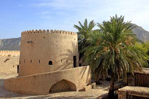 Les monuments, Oman, sultanat, moyen-orient, fort, Musandam, khasab, musée
