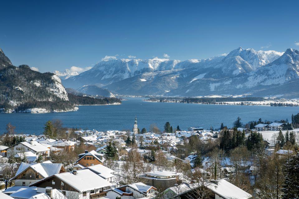 Les paysages, land de salzbourg, land, lac, autriche, paysage, europe, Wolfgangsee, Saint-Gilgen