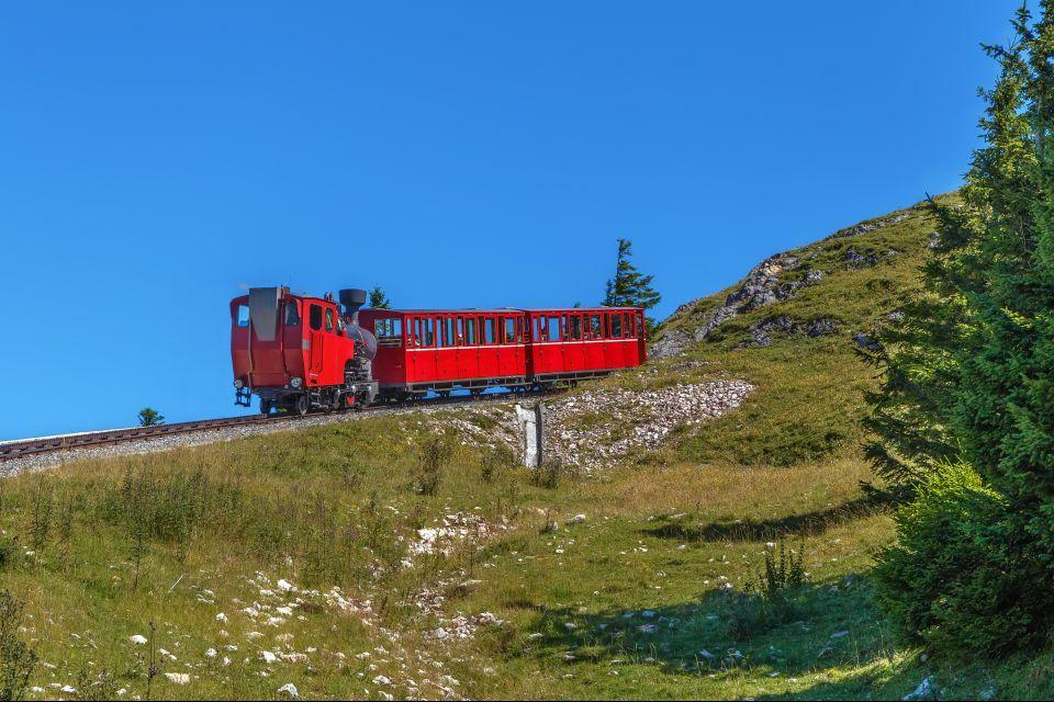 Les paysages, land de salzbourg, land, lac, autriche, paysage, europe, schalberg, crémaillère, train, transport