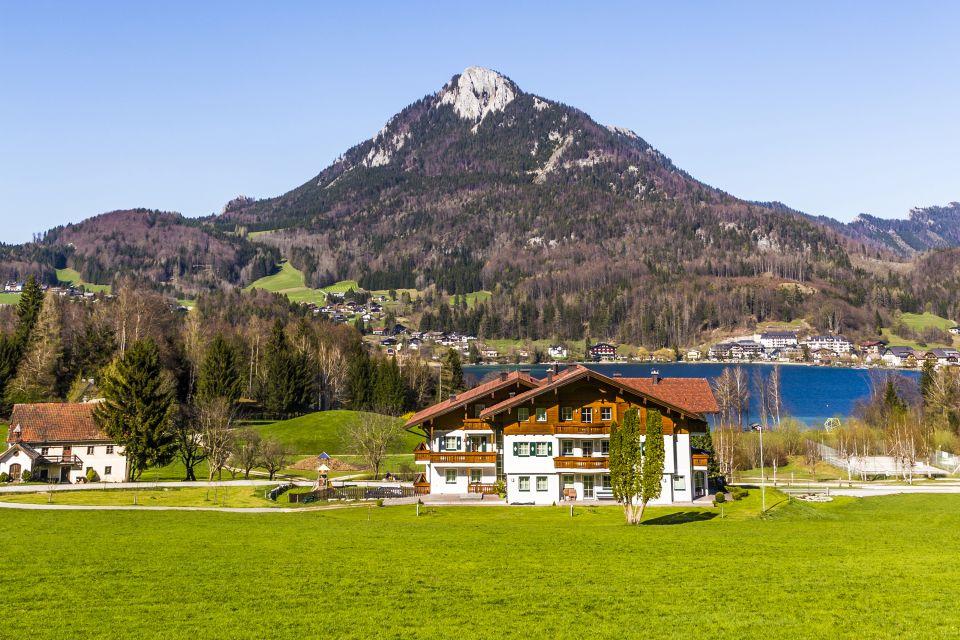 Les paysages, land de salzbourg, land, lac, autriche, paysage, europe, Fuschl