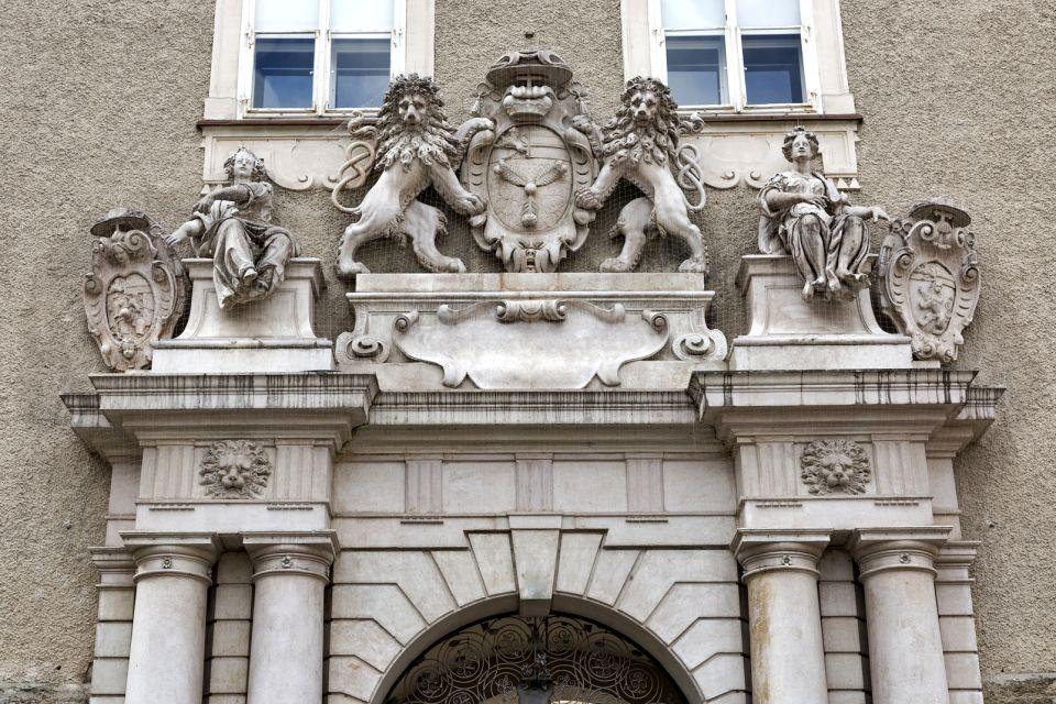 Les musées, salzbourg, dome, autriche, europe, musée, culture, DomQuartier, porte, armoiries