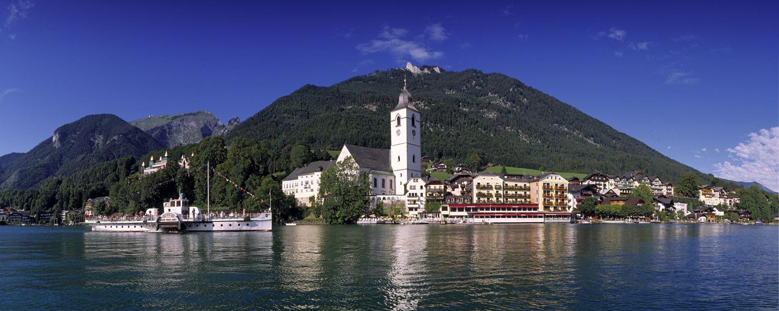 , Le lac de Wolfgangsee, Les paysages, Autriche