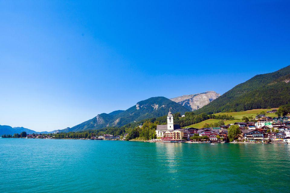 Les paysages, Autriche, europe, wolfgangsee, lac, saint wolfgang, église