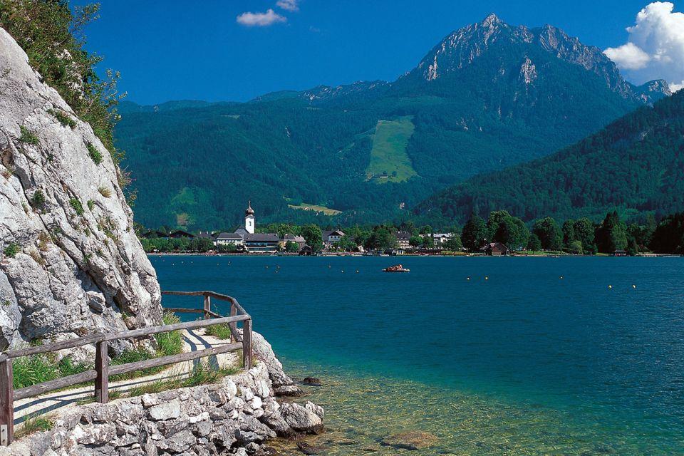 Les paysages, Autriche, europe, wolfgangsee, lac