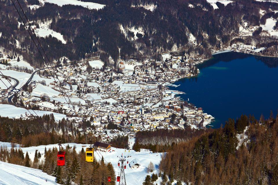 Les paysages, Autriche, europe, wolfgangsee, lac, saint-gilgen, mozart