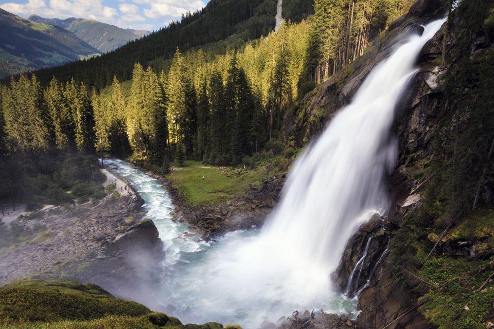 Les paysages, Großglockner, autriche, europe, montagne, route, cascade, krimml