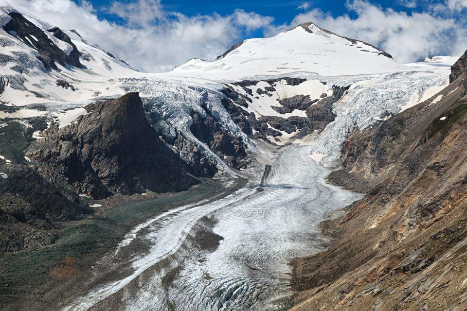 Les paysages, Großglockner, autriche, europe, montagne, route, Pasterze, Glacier, Grossglockner