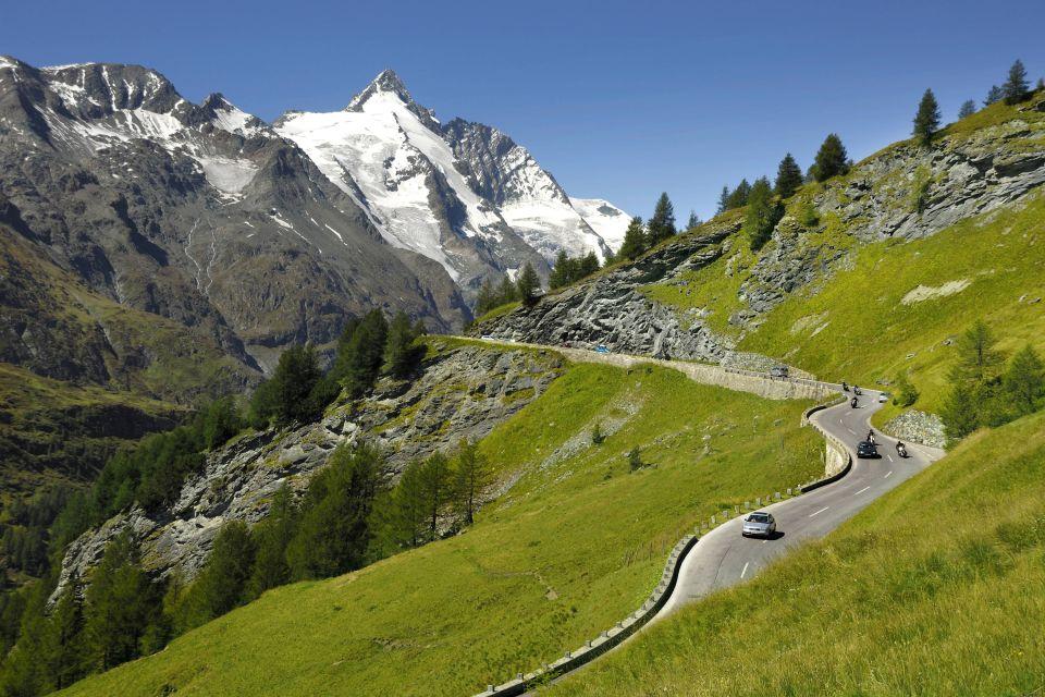 Les paysages, Großglockner, autriche, europe, montagne, route
