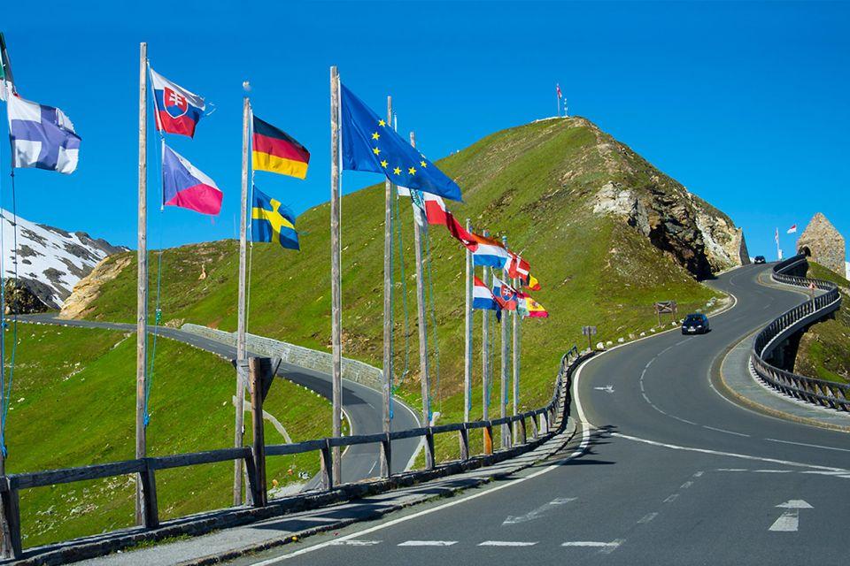 Les paysages, Großglockner, autriche, europe, montagne, route, Pasterze, Glacier, Grossglockner, Feuerwerk, Kitzbühel