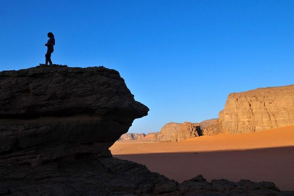 The tassili of Ajjer , Algeria