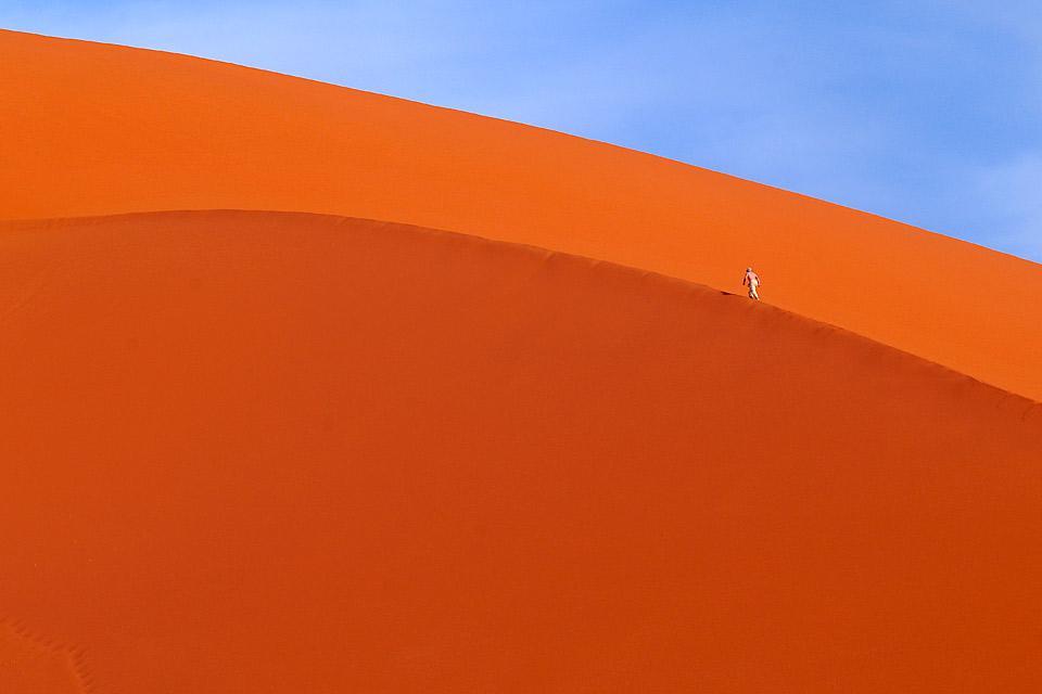 La meseta de Ajjer , Montañas rocosas del Tassili , Argelia