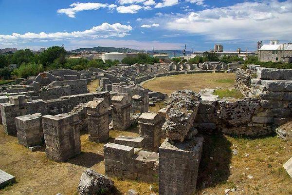 Le vestigia romane , L'antica città di Salona, Croazia , Croazia