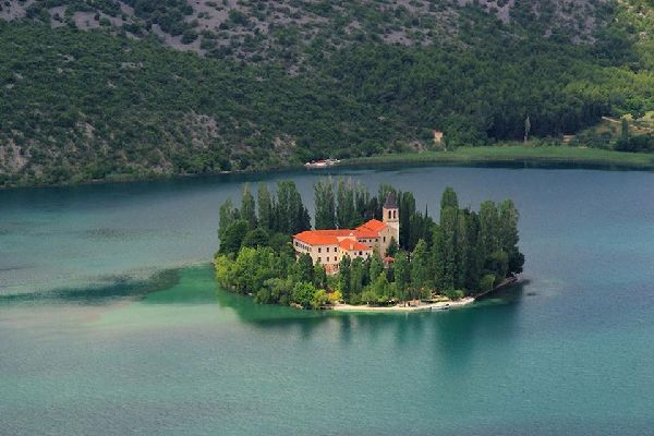 Architecture , Visovac Island, Croatia , Croatia