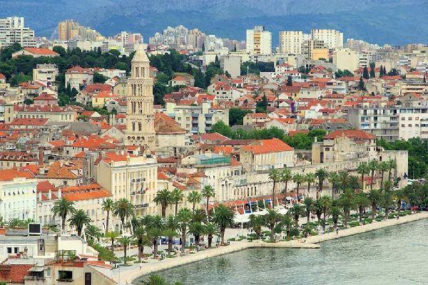 Arquitectura , La ciudad de Split en Croacia , Croacia