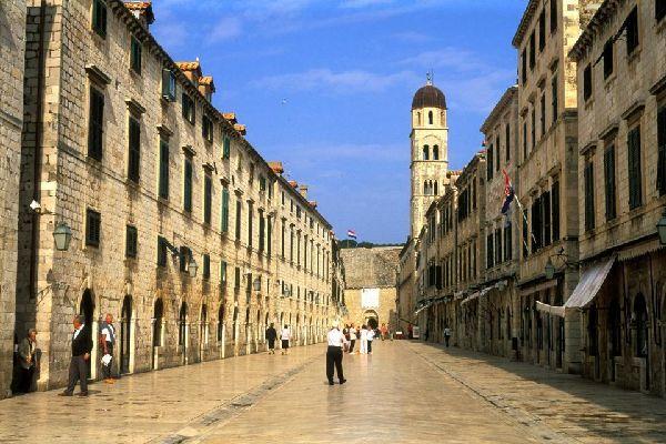 Arquitectura , La Placa de Dubrovnik, Croacia. , Croacia