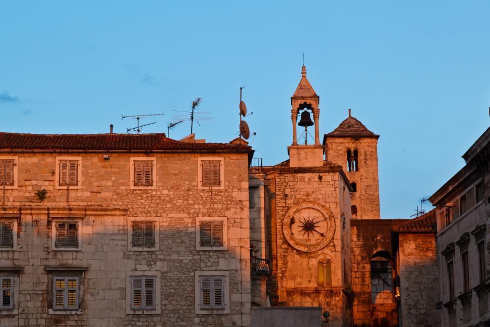 L'architecture , La vieille ville de Split en Croatie , Croatie