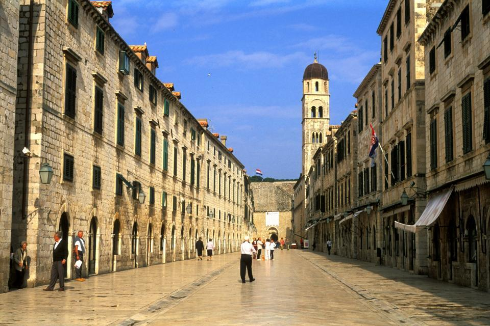 L'architecture , La Placa de Dubrovnik en Croatie , Croatie