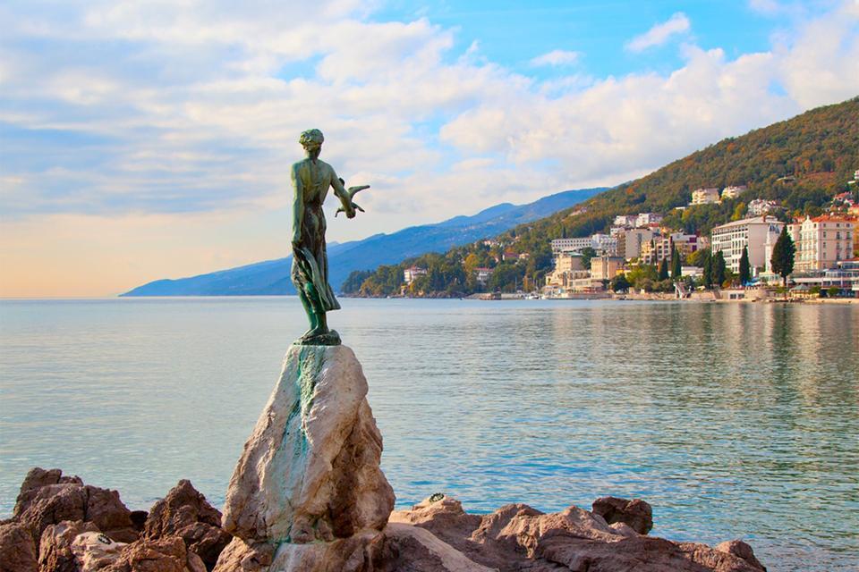 Contemporary Arts , A sculpture in Opatija, Croatia , Croatia