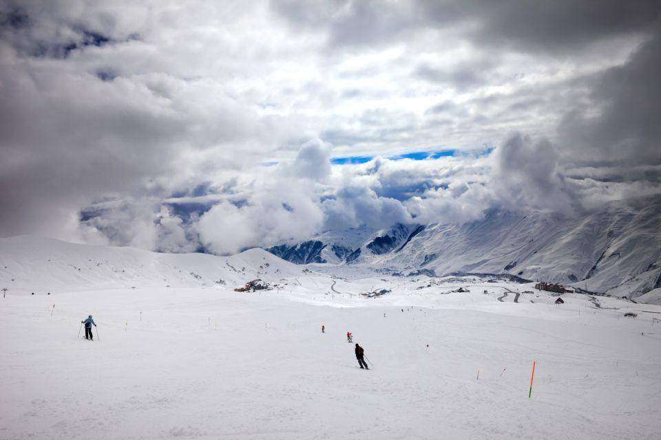 Les paysages, Georgie, géorgie, europe, caucase, montagne, ski, station, gudauri