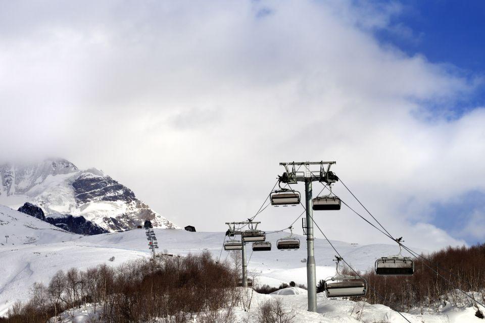 Les paysages, Georgie, géorgie, europe, caucase, montagne, ski, station, tetnuldi