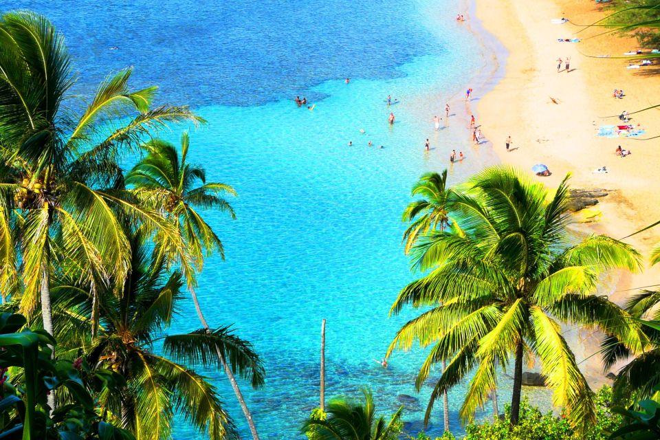 Les îles et les plages, honolulu