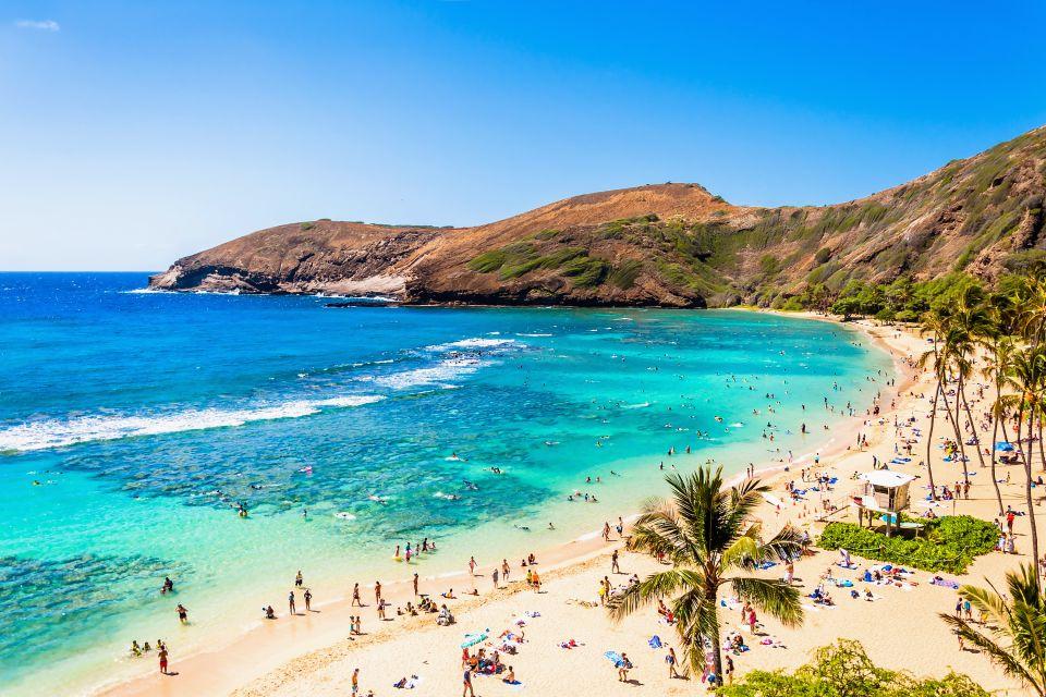 Les îles et les plages, Oahu, hawaï, hawaii, amérique, etats-unis, USA, océan, plage, ile, baie, hanauma